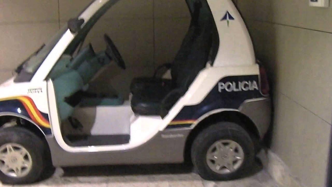 Bombardier Spanish Electric Police Car