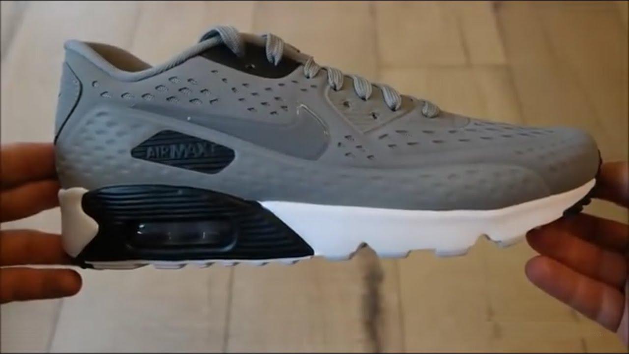 a92b9240e فتح علبة وتجربة حذاء نايك الجديد Nike Air Max 90 Ultra BR وكيفية الشراء  بأفضل سعر