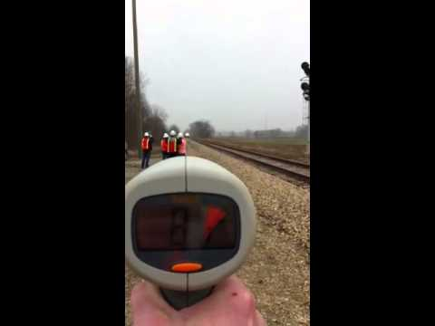 Thumbnail: Amtrak 110 MPH Train in Michigan under ITCS Control