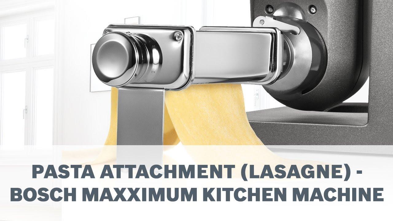 video bosch küchenmaschine maxximum