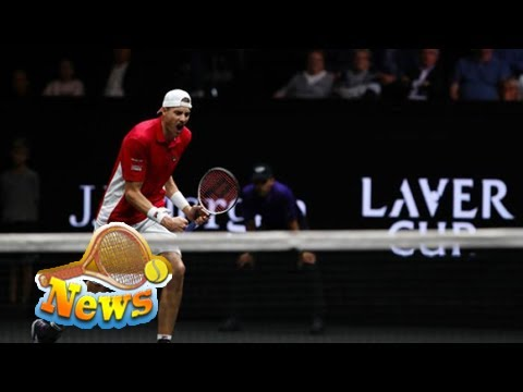 Laver cup: inspired isner beats nadal to keep team world alive!