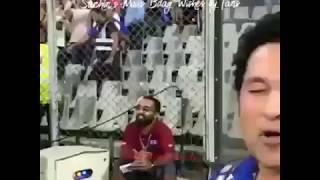 Sachin's Mass Bday Wishes by Fans Full Stadium #God_of_Circket Sachin Best WhatsApp Status Bday Wish