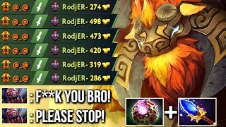 How To DELETE Brood EZ! Carry Earthshaker Scepter OC Build by SexyB...