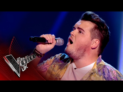 Tom Johnston performs Hometown Glory: Blind Auditions 5  The Voice UK 2017
