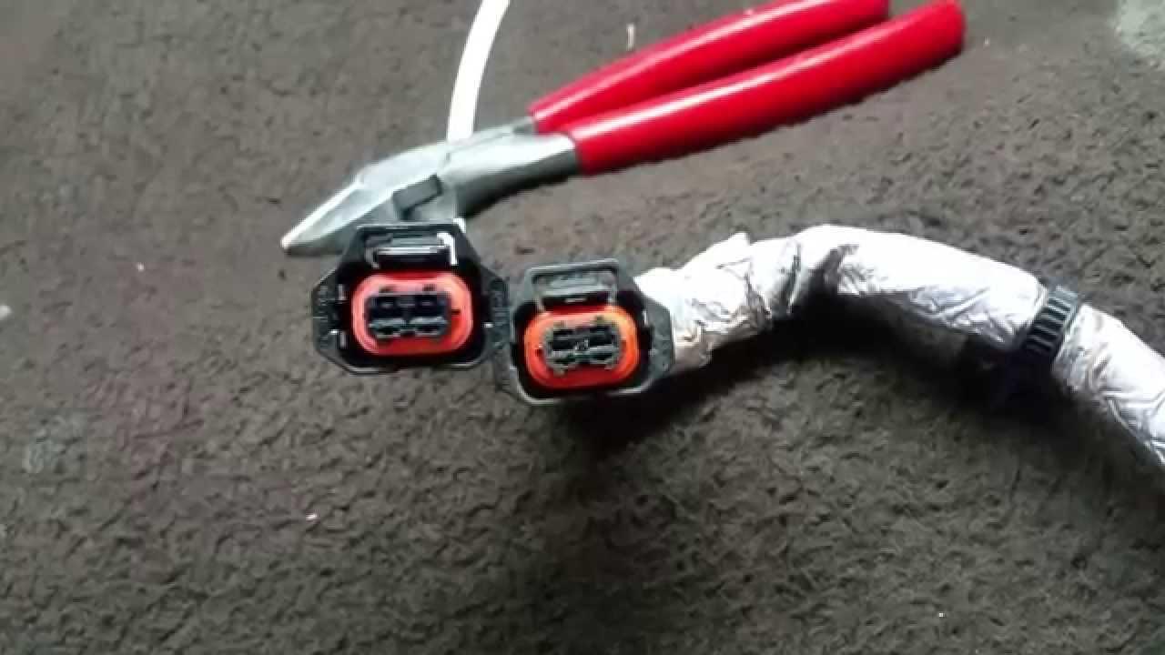 bad lbz duramax fuel injector wire harness youtube 2005 duramax injector wiring diagram [ 1280 x 720 Pixel ]