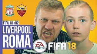 LIVERPOOL-ROMA / FIFA18 #02