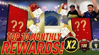 TOP 10 MONTHLY REWARDS x2 with SPENCER FC!! ICON + 44 INFORMS! 9th in the WORLD ON FUT CHAMPIONS!