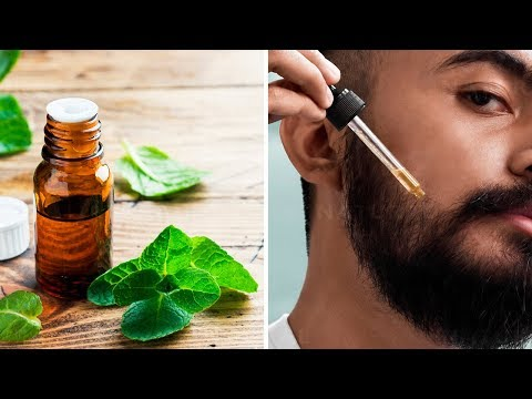 Peppermint Oil Can Help Your Beard Grow Faster & Fuller