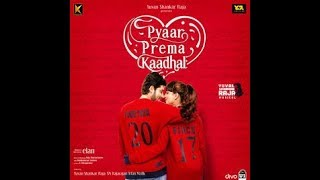 High on love - single | pyaar prema kadhaal | yuvan shankar raja | sid sriram | Niranjan bharathi |