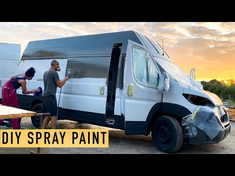 Spray Painting Our