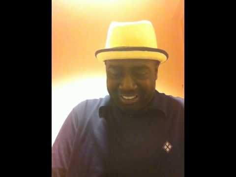 """Marvin Williams sings """"God Specializes."""""""