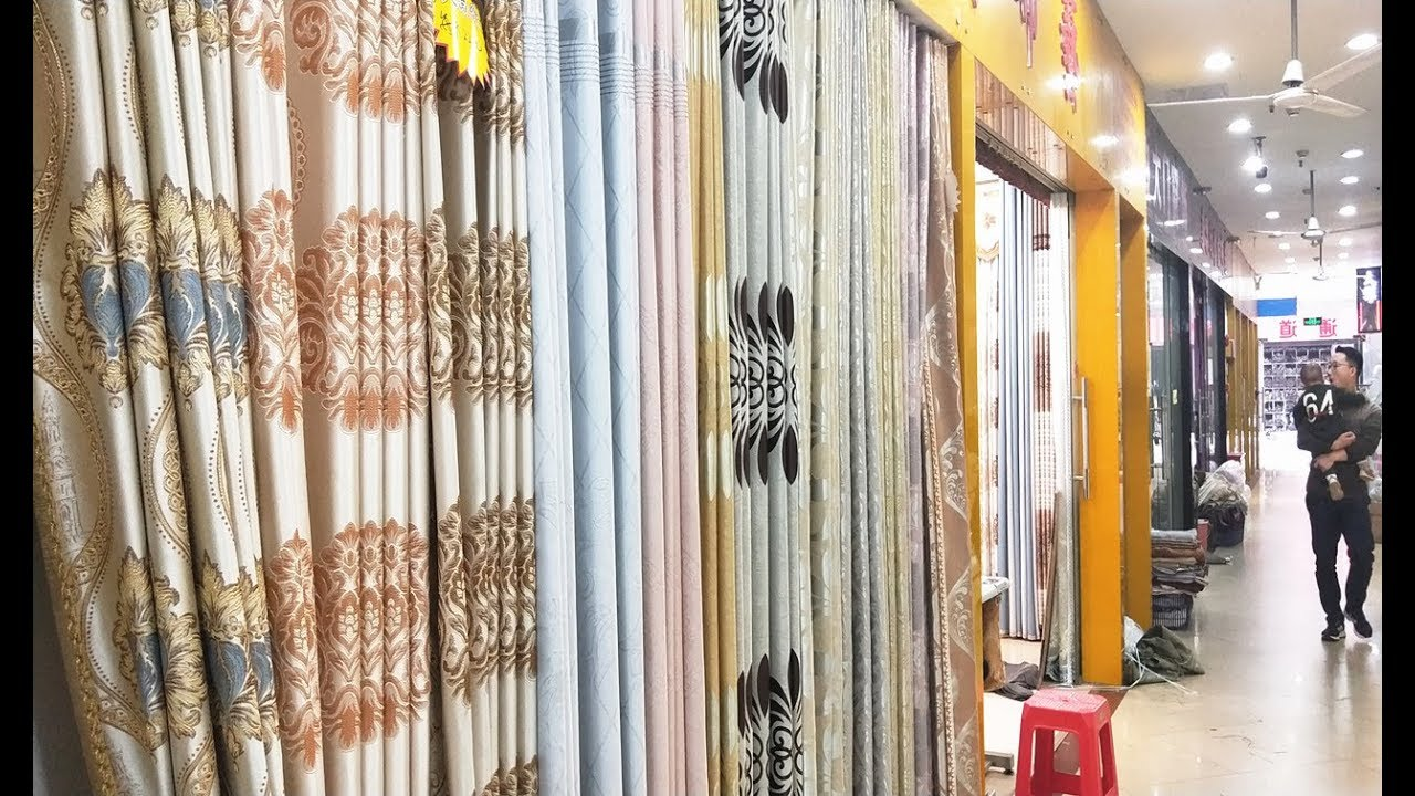 Curtain Fabric Wholesale Curtain Fabrics Wholesale Market In China Beddings Quilt Comforter Pillow Cloth Curtain Tracks Rails