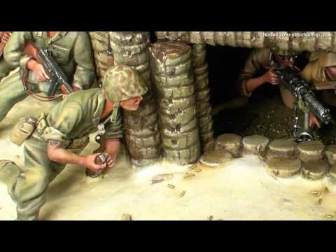 Diorama of the Day: Battle of Tarawa by Paul Keefe