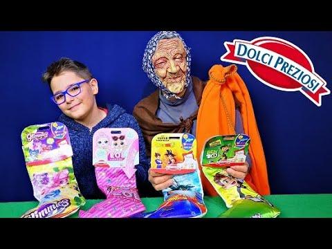 LA BEFANA HA PORTATO LE CALZE DI DOLCI PREZIOSI - Leo Toys