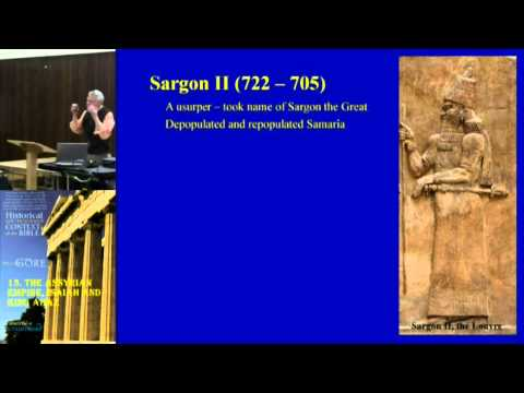 13. The Assyrian Empire, Isaiah and King Ahaz