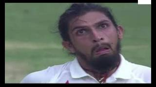 Ishant sharma making funny faces for Steve Smith.. Virat kohli burst into laughing.. must watch