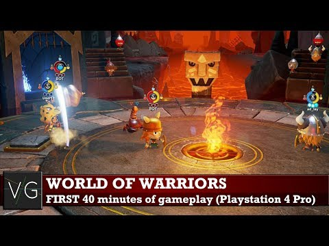 World of Warriors (PS4 Pro) - first 40 minutes of gameplay. No commentary.