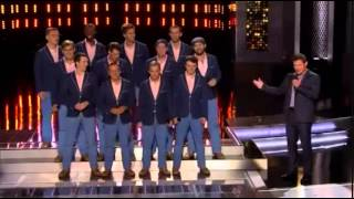 "1st Performance - AcoUstiKats - ""Blurred Lines"" By Robin Thicke Feat Pharrell - Sing Off - Series 4"