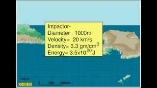 Global Catastrophe: Deep-Ocean Impact Eltanin Meteor
