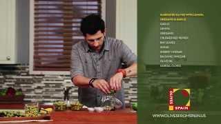 Marinated Olives With Lemon, Oregano & Garlic