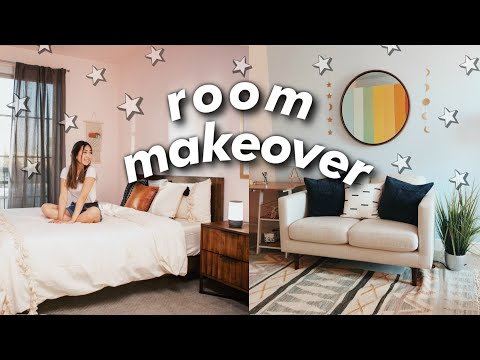 ULTIMATE ROOM MAKEOVER + Room Tour | JENerationDIY