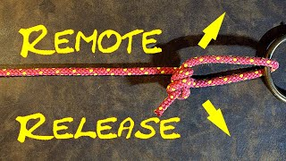Remote Release Lift Hiтch - Easy Remote Release Knot - 2 Versions