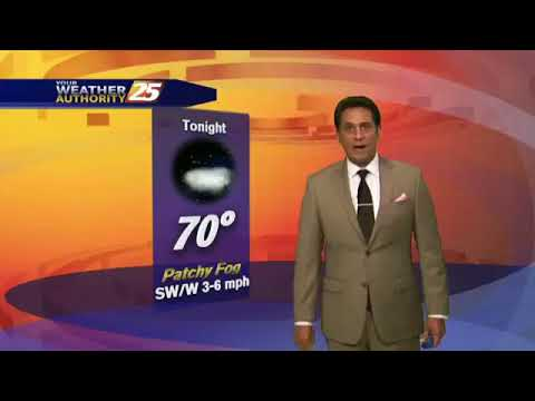 "5/17 - Rob Knight's HOT/HUMID ""Friday-Eve"" Forecast"