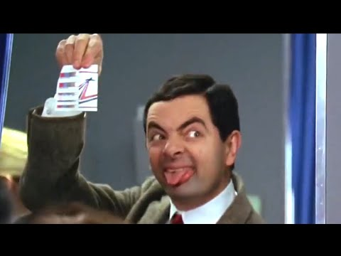 Plane Crazy | Funny Clips | Mr Bean Official