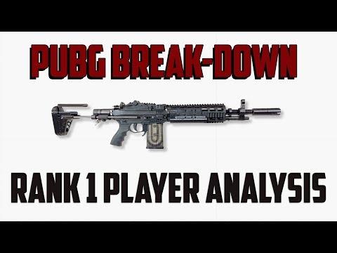 PUBG Break-Down Ep. 4: Analyzing a Rank 1 Player - BATTLEGROUNDS TIPS AND TRICKS