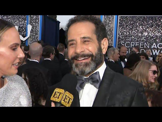 Tony Shalhoub Jokes About 'Marvelous Mrs. Maisel' Season 4 Plot   SAG Awards 2020