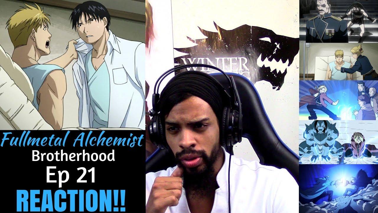 Fullmetal Alchemist Brotherhood Episode 21 REACTION/REVIEW ...