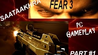 F.3.A.R (PC gameplay WITH game Intro) WALKTHOUGH PART #1