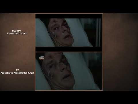 Doctor Strange Open Matte Aspect Ratio (1 78) VS Blu-Ray Aspect Ratio (2 39)
