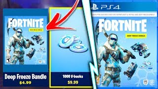 "Comment obtenir ""DEEP FREEZE BUNDLE"" à Fortnite! - Nouveau Fortnite ""Deep Freeze Skin Bundle"" fuite!"