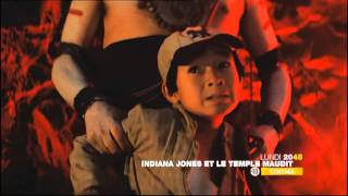 Indiana Jones et le temple maudit  MArdi 20h45 M6 13 10 2011 steven spielberg harrison ford