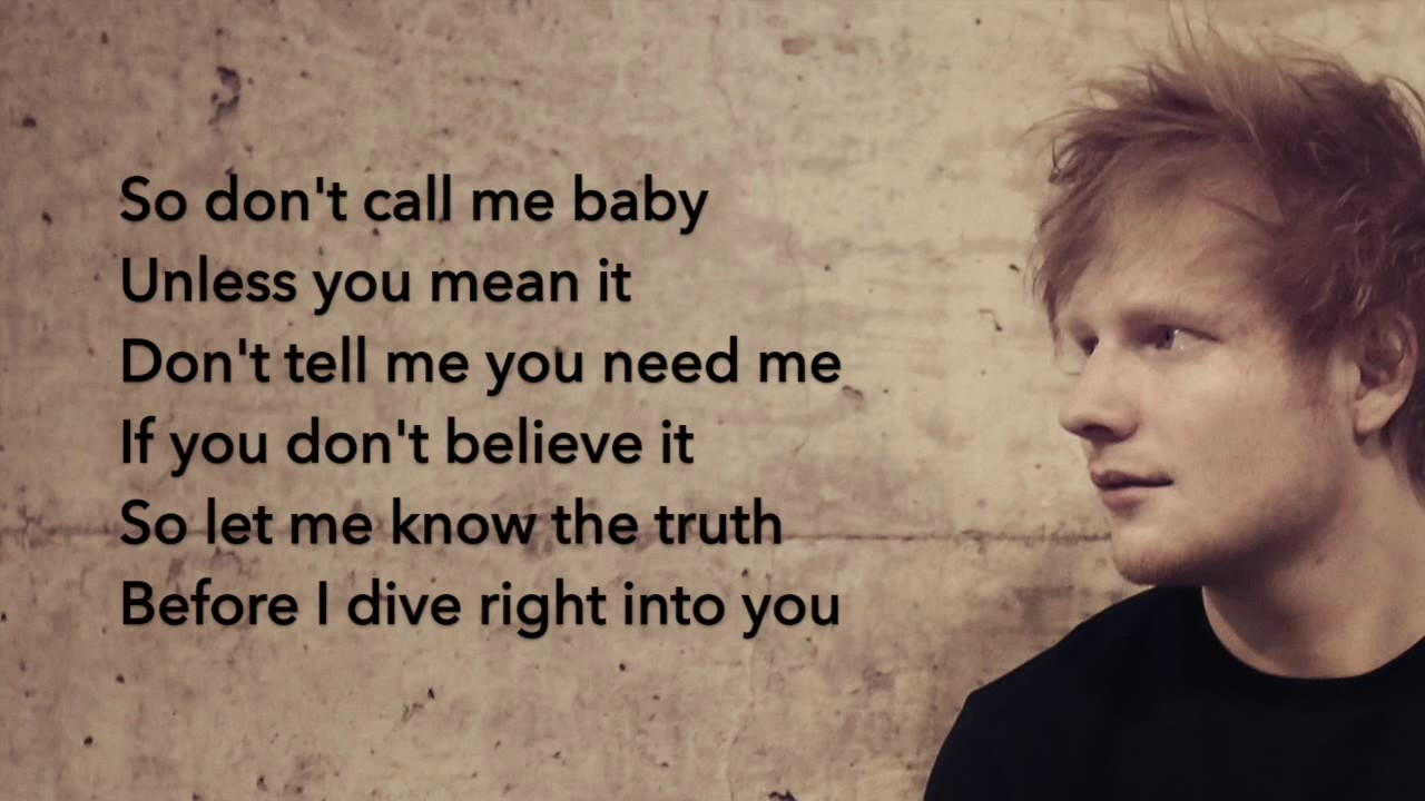Dive ed sheeran testo casamia idea di immagine - Dive testo ed sheeran ...