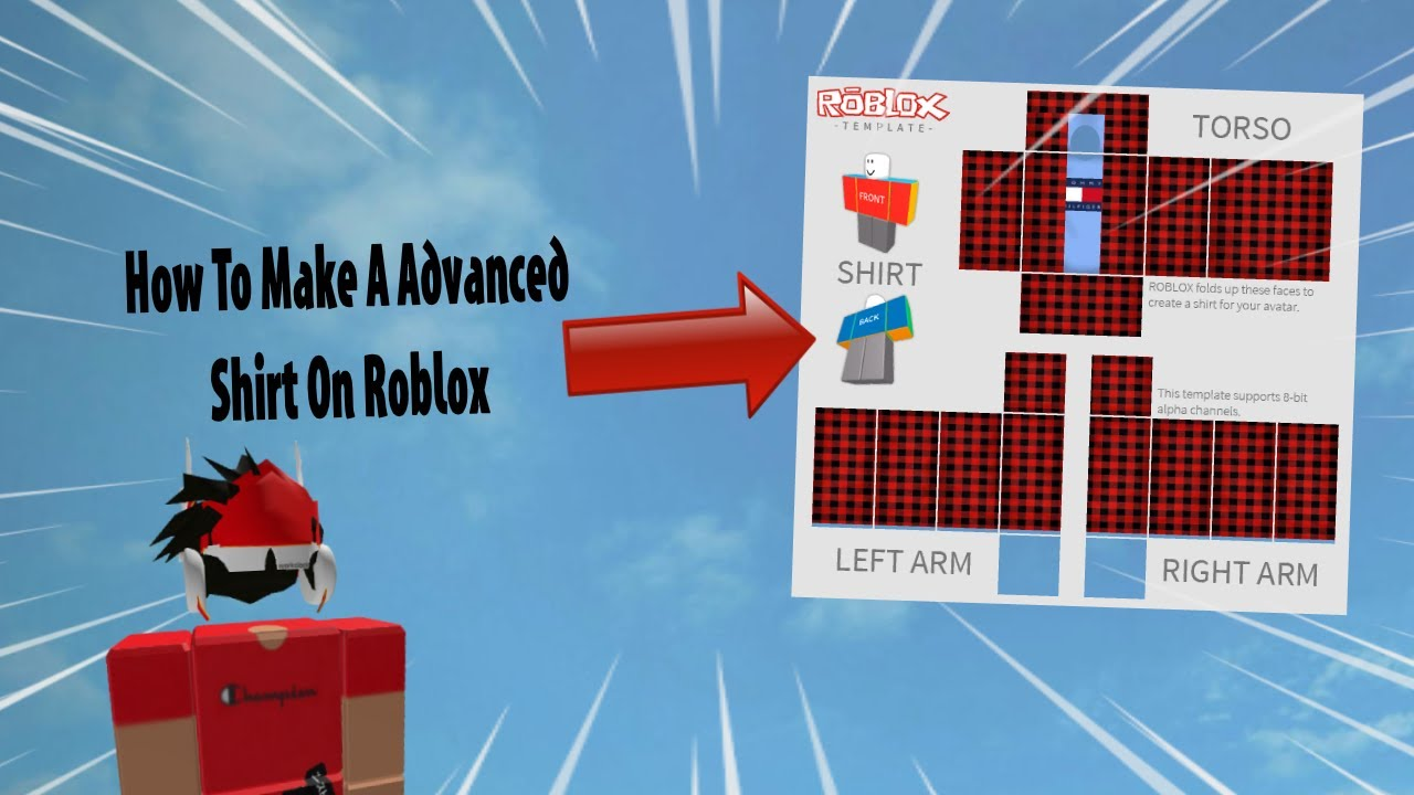 How To Make A Advanced Shirt On Roblox 12