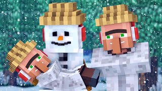 Snowman & Villager Life 2 - Minecraft Animation