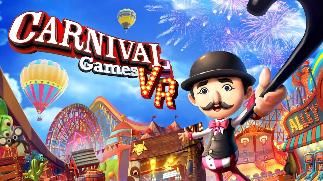 Carnival Games Vr Every Mini Game Gameplay Direct Feed