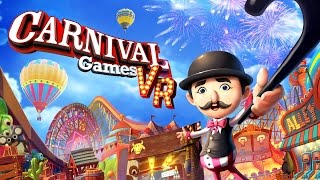 Carnival Games VR - Every Mini-Game Gameplay (Direct-Feed PS4 Footage)