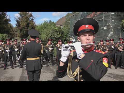 Suworow Kadetten In Bern - 25.09.2019 Суворовские курсанты в Берне (Швейцария)