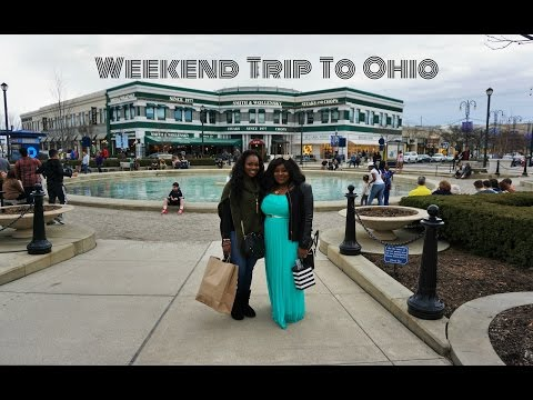 VLOG | Weekend Trip to Ohio w/ BeautybyBenji