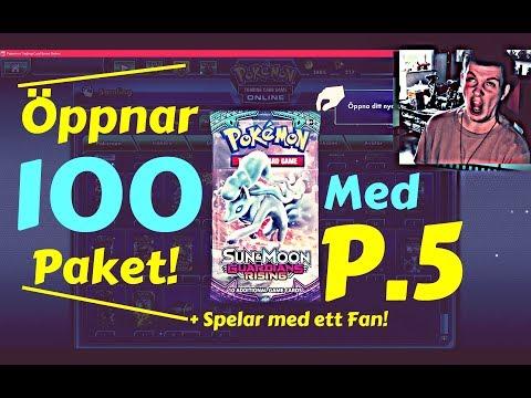 P.5 - KÖPER 100 PAKET & Spelar med ett Fan!
