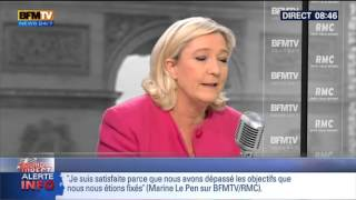 Bourdin Direct: Marine Le Pen - 31/03