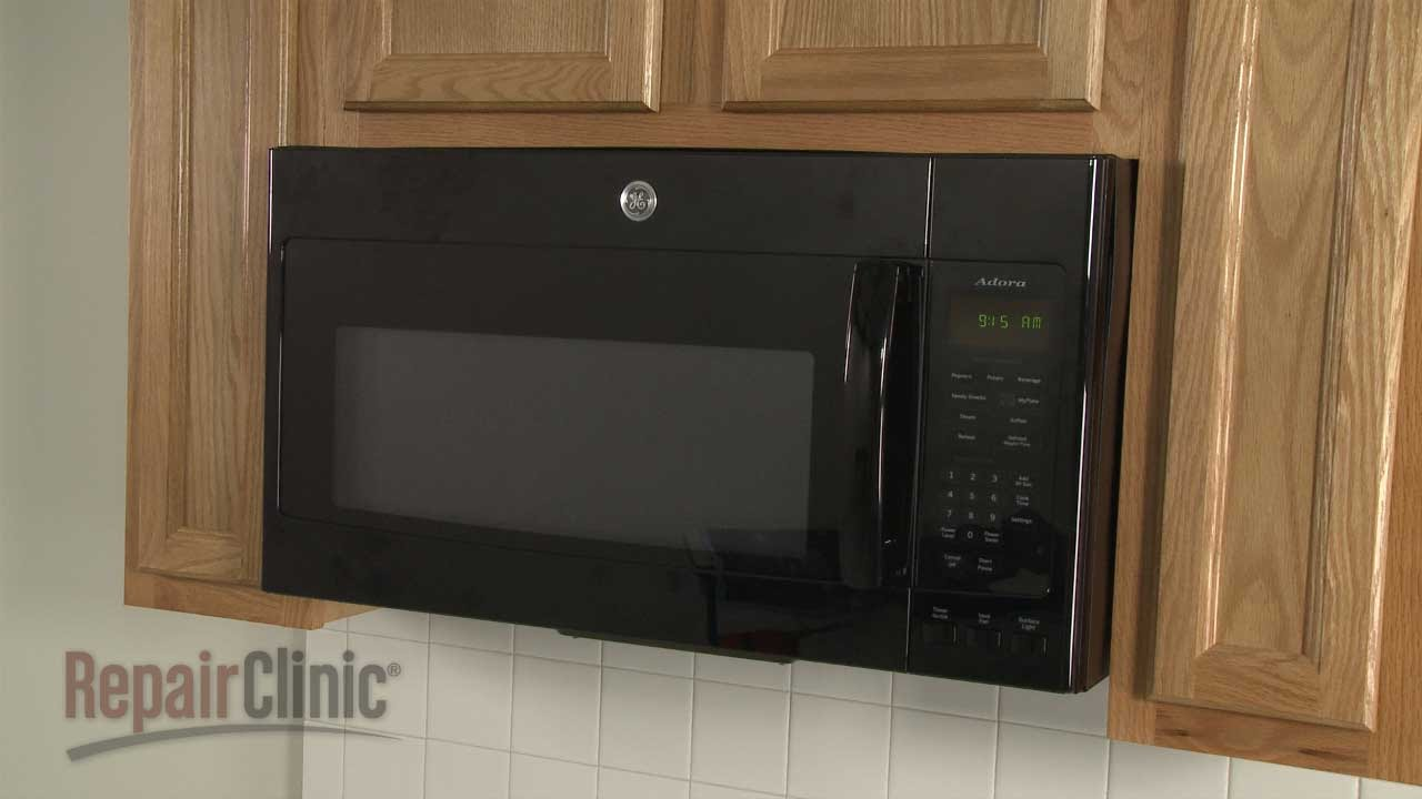 Ge Microwave Disassembly Microwave Repair Help Youtube