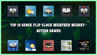 Top 10 Sense Flip Clock Weather Widget Android Games screenshot 3