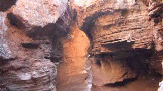 slot canyon, Palo Duro Canyon 1-18-12.