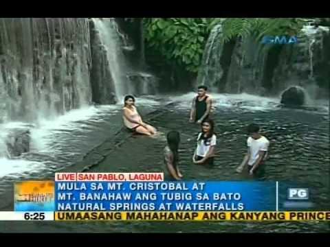 Summer in San Pablo, Laguna: Natural springs, waterfalls | Unang Hirit