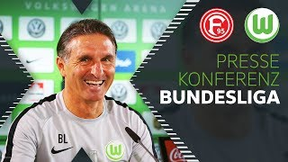 """""""Wird viel über Zweikämpfe gehen""""   Pressekonferenz   Fortuna Düsseldorf - VfL Wolfsburg"""