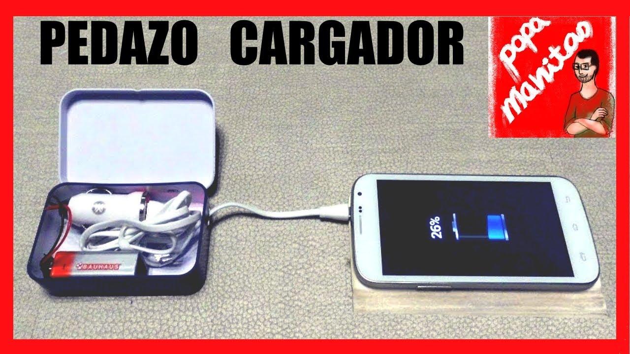 Como hacer un cargador portatil casero para m vil o - Bateria para casa ...
